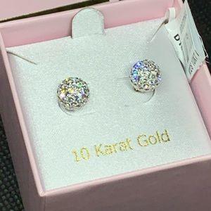 10k Gold Earrings 💕💝🌸